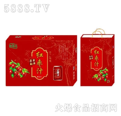 馨畅红枣汁果味饮料礼盒装