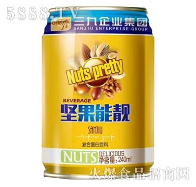咖秀坚果能靓复合蛋白饮料240ml