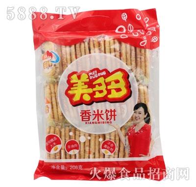 美多多香米饼208克