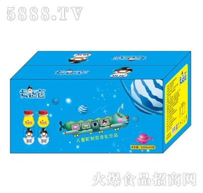 黄逗菌儿童配制型含乳饮料200mlX24
