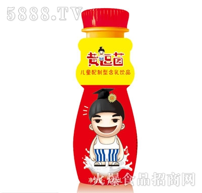 黄逗菌儿童配制型含乳饮料200(瓶装)