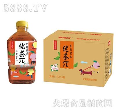 优茶π茉莉蜜茶1Lx10瓶