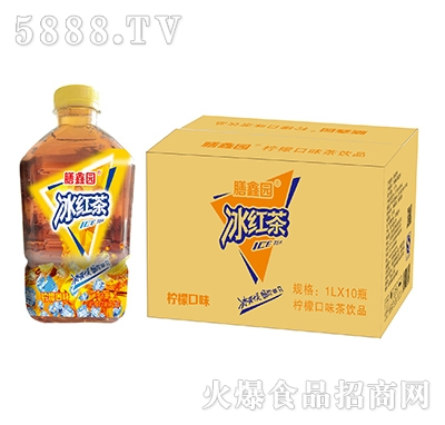 膳鑫园冰红茶柠檬口味1Lx10瓶