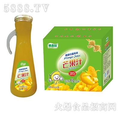 膳鑫园芒果汁果汁饮料1.5Lx6瓶