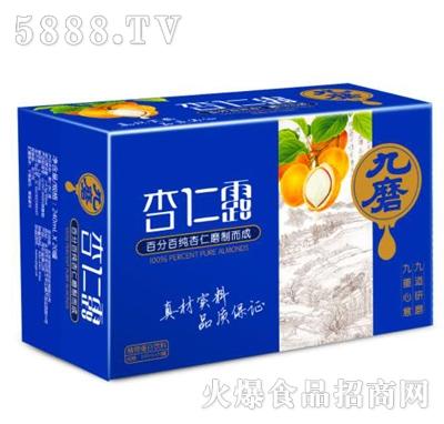 九磨杏仁露植物蛋白饮料箱装