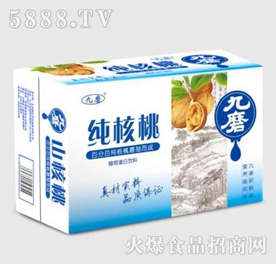 九磨纯核桃植物蛋白饮料(箱)