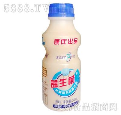 康伴益生菌乳酸菌饮品340ml