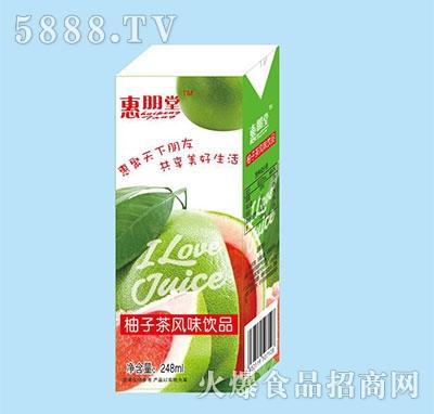 惠朋堂柚子风味饮品248ml