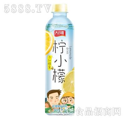 天合露柠小檬柠檬果味饮料500ml