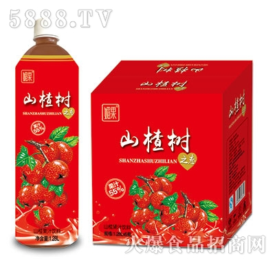 媚果山楂树之恋山楂汁1.28Lx6