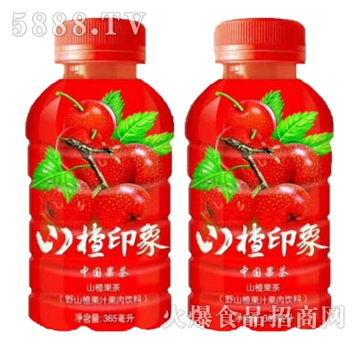 亚宝奇山楂印象山楂果茶果汁饮料365ml