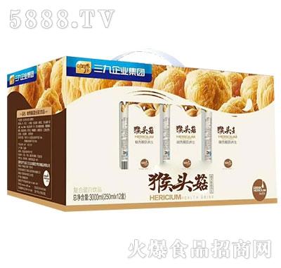 三九咖秀猴头菇蛋白饮料250mlx12盒