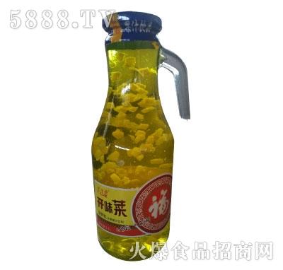 美汁恋开味菜菠萝粒果汁饮料1