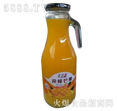 美汁恋冷榨芒果汁饮料