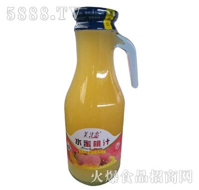 美汁恋水蜜桃汁饮料