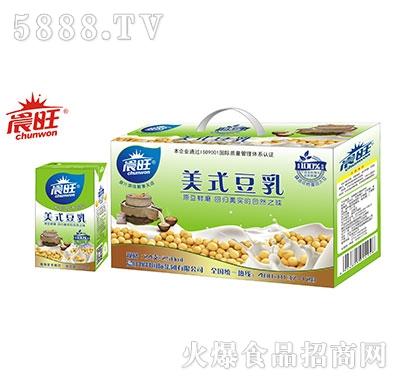 晨旺美式豆乳250mlx24盒
