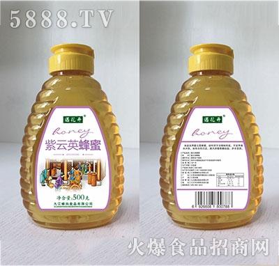 遇花开紫云英蜂蜜500克瓶装