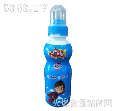 益园农场快乐超人蓝瓶儿童饮品