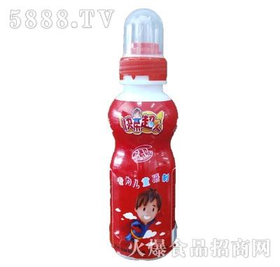 益园农场快乐超人红瓶儿童饮品
