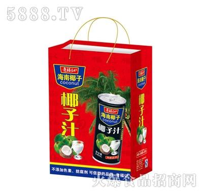 奇福记海南椰汁椰子汁风味饮料手提装