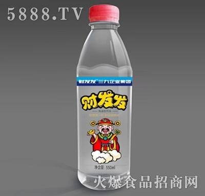财发发矿物质饮用水550ml