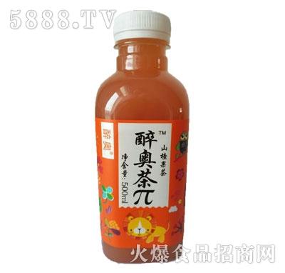 醉奥茶π500ml山楂果茶