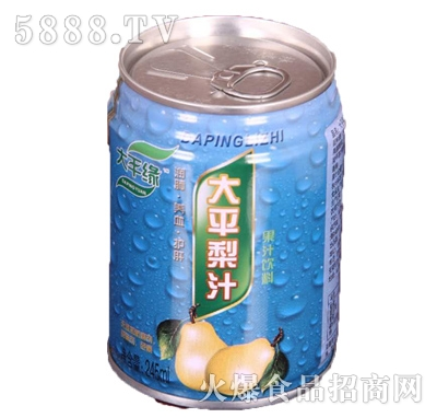 大平缘大平梨汁果味饮料245ml