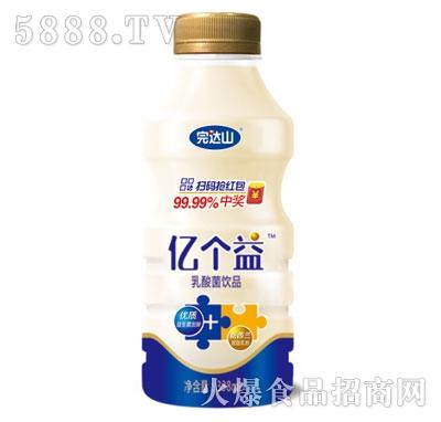完达山亿个益乳酸菌饮品338ml
