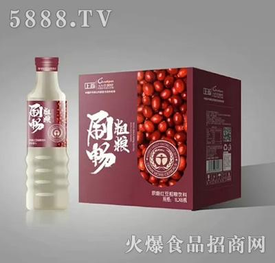 刷畅粗粮红豆粗粮饮料1Lx5瓶