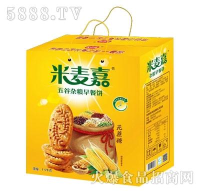 米麦嘉五谷杂粮早餐饼(礼盒)