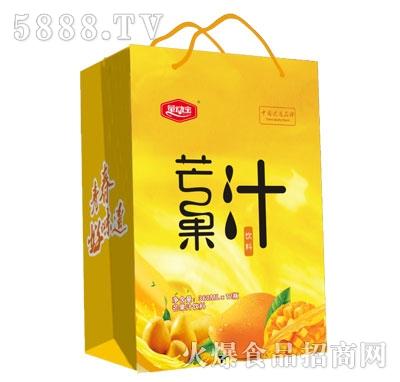 量动宝芒果汁360mlX12