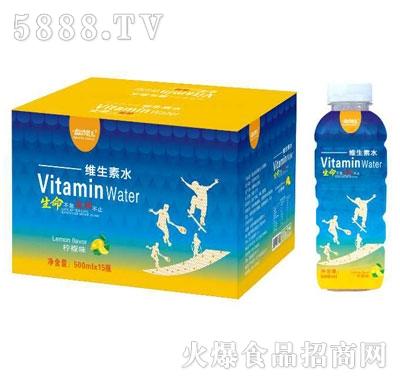 运动范儿维生素水柠檬味