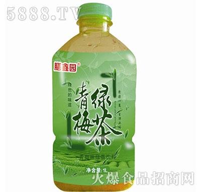 膳鑫园青梅绿茶1L