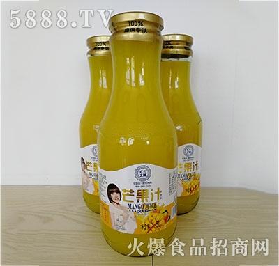 汇之果半把手芒果汁1.5L