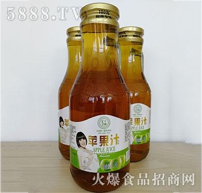 汇之果半把手苹果汁1.5L