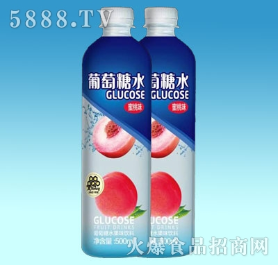 葡萄糖水水蜜桃味500ml