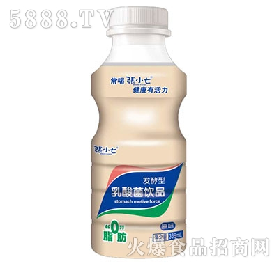 张小七发酵型乳酸菌饮品338ml原味