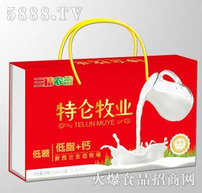 三精农谷特仑牧业低糖乳味饮料