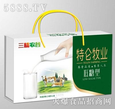 三精农谷特仑牧业低糖型乳味饮料