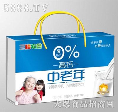 三精农谷中老年高钙乳味饮料