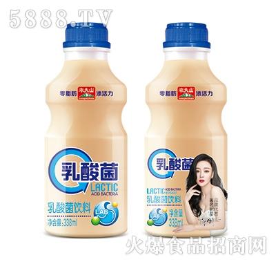 农夫山乳酸菌饮品338ml(正反面)