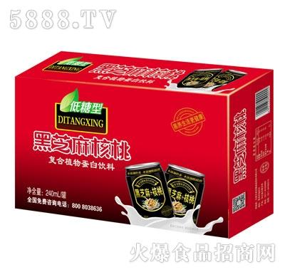 君尔旺黑芝麻核桃复合植物蛋白饮料(箱)