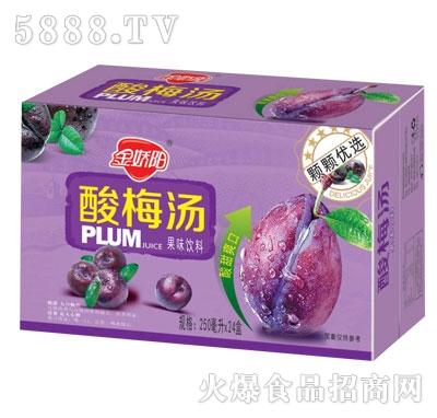金娇阳酸梅汤果味饮料250mlX24