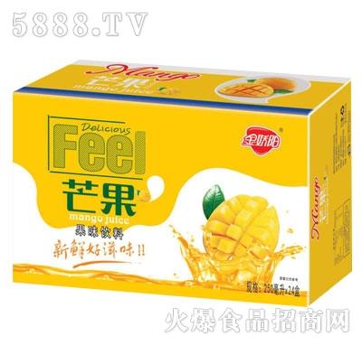 金娇阳芒果果味饮料250mlX24