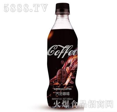 鑫隆江汽泡咖啡480ml