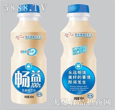 畅益乳酸菌饮品340ml原味