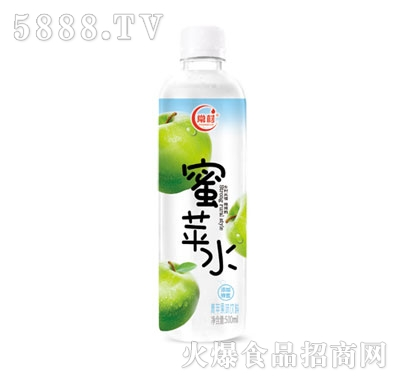 常材蜜苹水青苹果味饮料500ml