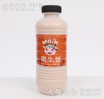 朱古力甜牛奶乳饮品450ml
