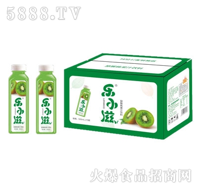 乐小滋猕猴桃果汁饮料500mlX15
