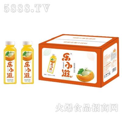 乐小滋哈密瓜果汁饮料500mlX15